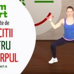 Exercitii de tonifiere acasa – VIDEO