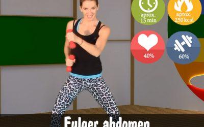 Antrenament fulger pentru abdomen