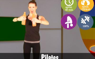 Pilates cu bidoane