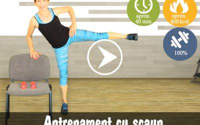 Total Body Workout cu scaun