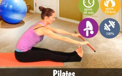 Pilates cu baston
