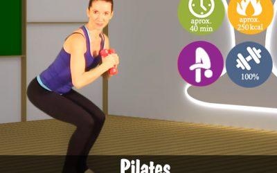 Pilates cu gantere
