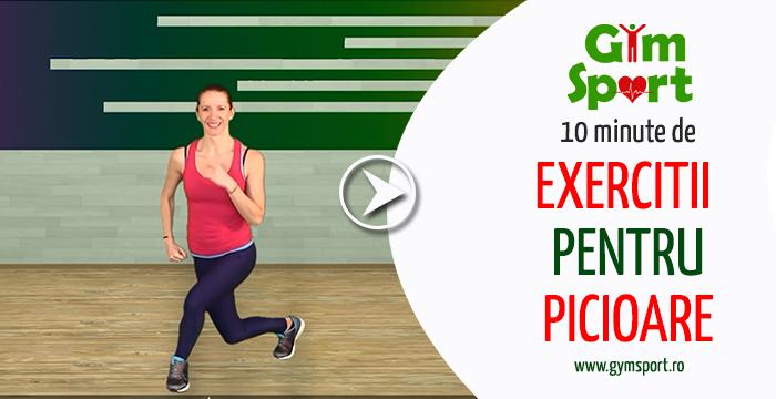 10 minute de exercitii pentru picioare suple