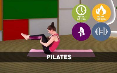 Pilates cu Tana