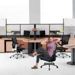 Exercitii pentru abdomen la birou