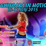 Sighisoara in motion, 15-17 mai