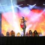 Ana Georgescu pe scena Zumba Convention 2015