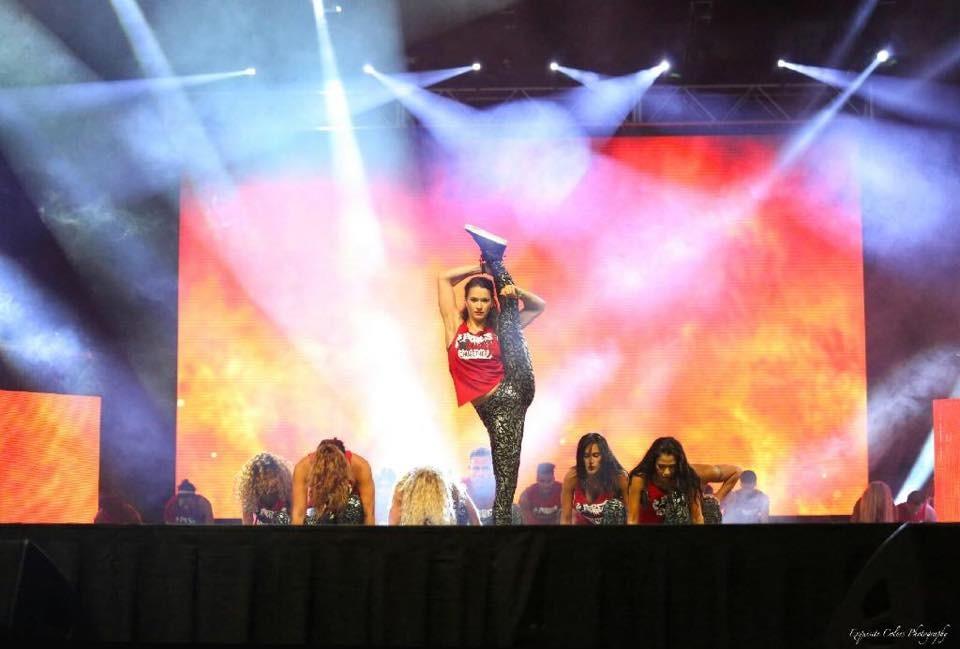 Ana Georgescu pe scena Zumba Convention 2015