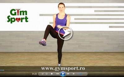 Exercitii pentru fesieri – VIDEO