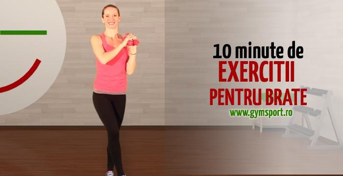 Exercitii pentru brate – VIDEO