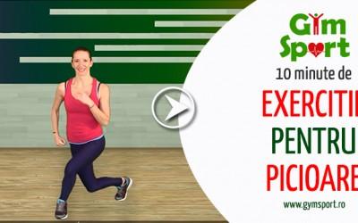 Exercitii pentru picioare – VIDEO 10 minute