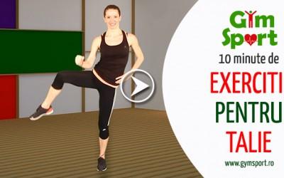 Exercitii pentru talie – VIDEO
