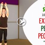 Exercitii pentru pectorali – VIDEO 10 minute