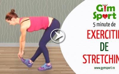 Exercitii de stretching dupa antrenament