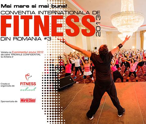 Conventia internationala de Fitness 2013