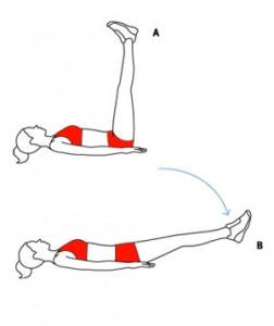 exercitii pentru abdomenul inferior